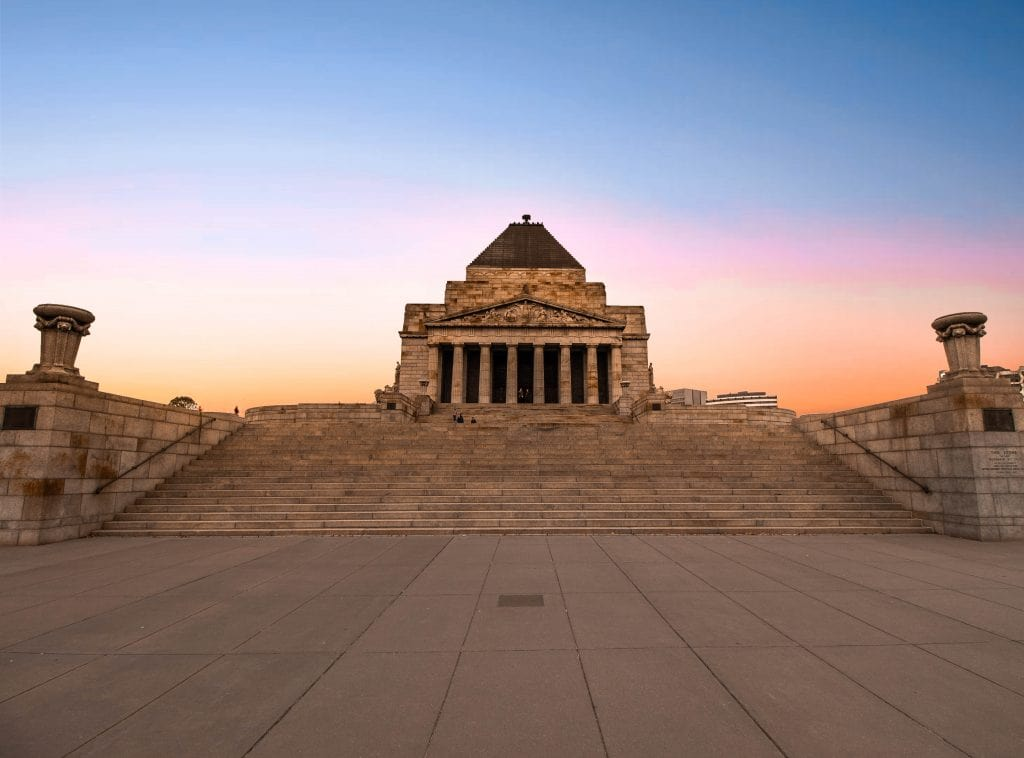 the shrine of remembrance-min